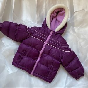 OshKosh Purple Puffer Jacket